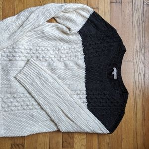 Banana Republic cable knit sweater  - size L